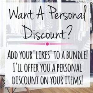 Other - Want A Personal Discount?